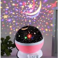 Star Master Gece Lambası Yıldız Yansıtmalı Projeksiyonlu Küre - Usb'li