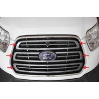 Spider Ford Transit 7 Ön Panjur 3 Parça Paslanmaz Çelik 2014 Üzeri Modeller