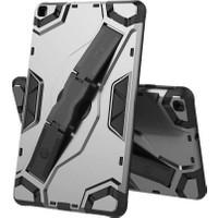 "Fibaks Samsung Galaxy Tab A SM-T290/T295/T297 8"" Kılıf Defens 360 Derece Tam Koruma Armor Tank Zırh Standlı Siyah"