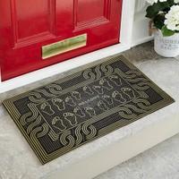 My Floor Myfloor Desenli Kauçuk Kapı Önü Paspası
