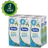 Torku Uht Yağlı Süt 6 Lı 200 ml x 2