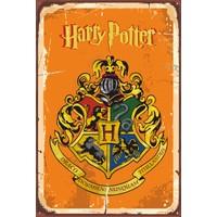 Atc Harry Potter Hogwarts Retro Vintage Ahşap Poster