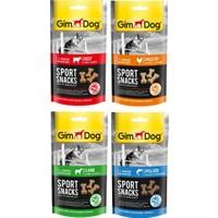 Gimdog Sportsnacks 4 Adet(Sığır+Tavuk+Kuzu+Balık)Köpek Ödül 60 gr ARDA004