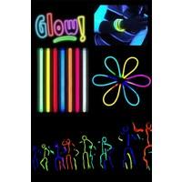 Technosmart 50 Adet Glow Stick Fosforlu Çubuk Bileklik