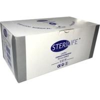 Sterilife 3 Katlı Lastikli Yüz Maskesi 50'li- Beyaz