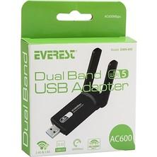 Everest EWN-600 600MBPS 5.8gh USB Kablosuz Adaptör Wifi alıcı