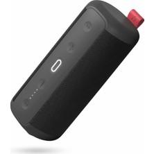 Hakii Cheer Ipx7 Su Geçirmez Taşınabilir Bluetooth Hoparlör Siyah