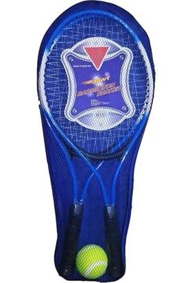 Liggo Çocuk Tenis Raketi Seti 21INÇ 2 Raket+1 Top Çantalı Set