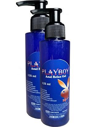 Playboy Anal Relax Gel 125 ml Anal Jel 2 Adet