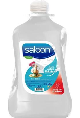 Saloon Sıvı Sabun Beyaz Sabun Kokulu 3,6lt