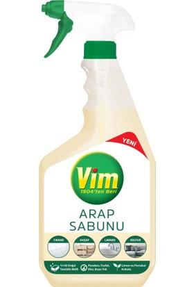Vim Arap Sabunu Sprey Yüzey Temizleyici 750 ml x 6