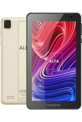 "Hometech Alfa 7MRC 32GB 7"" Tablet Gold"