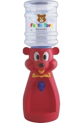 Funtik Kırmızı Ayı Çocuk Su Sebili