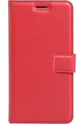 SmartBerry Samsung Galaxy J6 Kılıf Kapaklı Cüzdan Kırmızı