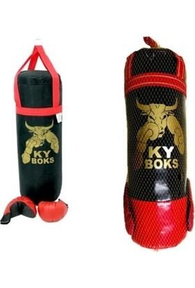 Ky Boks Boks Torbası + Eldiven