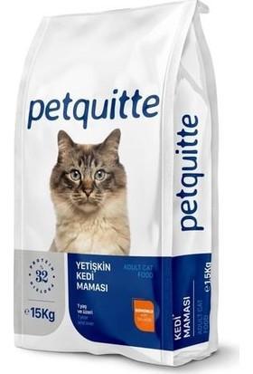 Petquıtte Somonlu Yetişkin Kedi Maması 15 kg