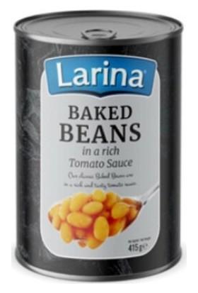ANDROS Larina Baked Beans 415 gr