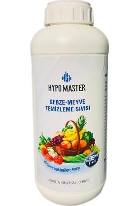 Hypo Master Sebze Meyve Temizleme Sıvısı 1 lt
