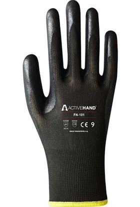 Active Hand FN101 Nitril Kaplı Iş Eldiveni 10 Numara (10 Çift)