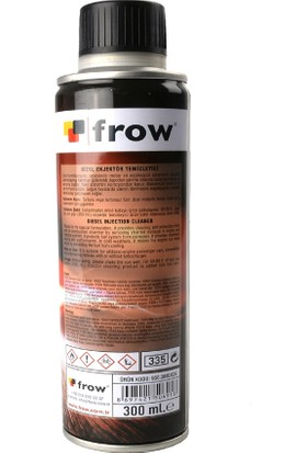 Frow Dizel Enjektör Temizleyici 300ml