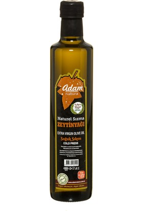 Adamnatura Erken Hasat Premium Quality Sızma Zeytinyağı 500 ml