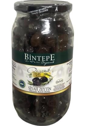 Bintepe Organik Organik Sofralık Siyah Zeytin 730 gr Kavanoz