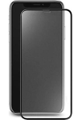 Samsung Galaxy A20 (A30-A50-A30S-M30S Uyumlu) Mat Seramik Ekran Koruyucu Tam Kaplayan Jelatin Siyah
