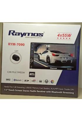 Double Oto Teyp 7'' Raymos RYM-7090 4*55 Watt-Bluetooth-Aux-