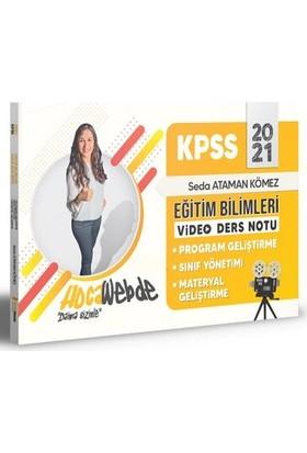 Hocawebde 2021 KPSS Eğitim Bilimleri Program Geliştirme -Sınıf Yönetimi - Materyal Geliştirme Video Ders Notları - Seda Ataman Kömez