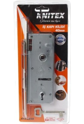Knitex İç Kapı Oda Kapısı Kilidi 40mm Ktx2239