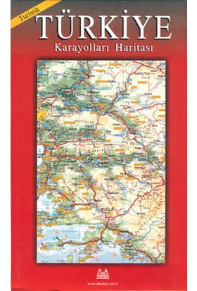 Turistik Karayolları Haritası Türkiye / Büyük Boy - Derleme