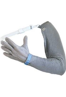 Protec Tam Kol ve 5 Parmaklı Metal Örgü Eldiven 52-LR(M) 02269 10