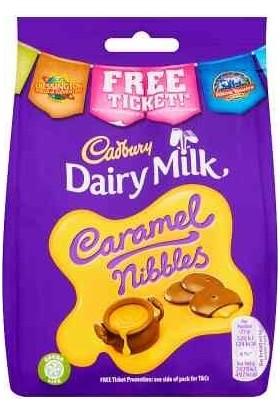 Cadbury Dairy Milk Caramel Nibbles Chocolate Bag 120 gr