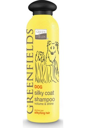 Green Fields Dog Silky Coat Ipeksi Uzun Tüylü Köpek Şampuanı 250 ml