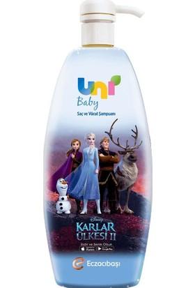 Uni Baby Frozen Boyasız Saç ve Vücut Şampuanı 700 ml
