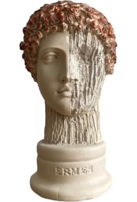 Orenc Craft Hermes Arbre Büst Obje Biblo Aksesuar