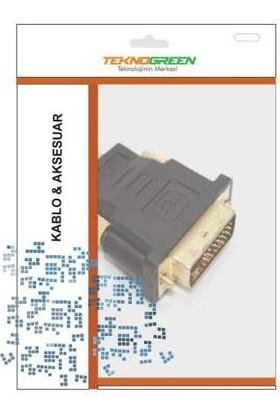 Teknogreen TKD-888 24+5 DVI Erkek HDMI Erkek Konne