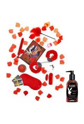 Toyjoy Happy Valentine Love Box Set ve Playboy Masaj Yağı