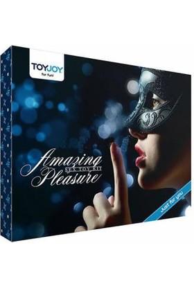Toyjoy Amazing Pleasure Toy Set ve Playboy Masaj Yağı