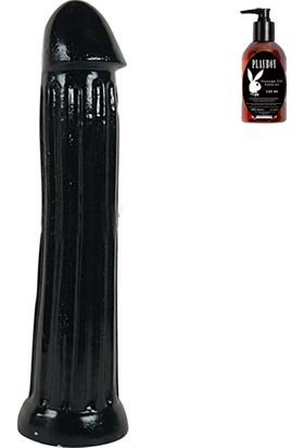All Black Series 31 cm Dong ve Playboy Masaj Yağı