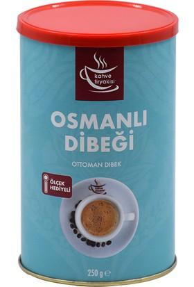 Kahve Tiryakisi Osmanlı Dibeği 250 gr Teneke