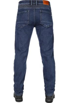 Urbanizer Dark Blue Cordura Korumalı Motosiklet Kot Pantolonu