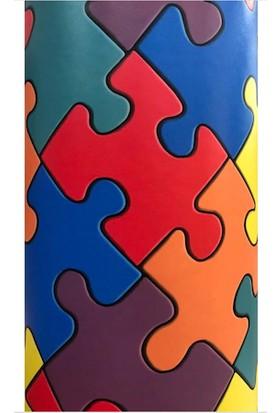Forfloor Puzzle Desenli Pvc Çocuk Zemin Yer Kaplaması