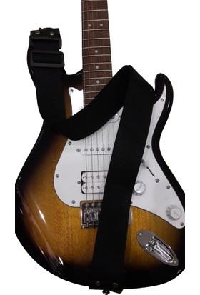 Alice Gitar Askı Kayışı - Siyah