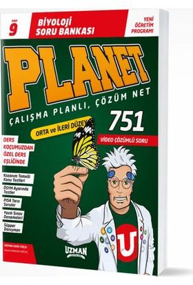 Uzman Yayınları 9. Sınıf Planet Biyoloji Soru Bankası