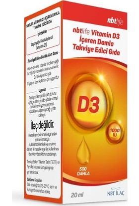 Nbt Life Vitamin D3