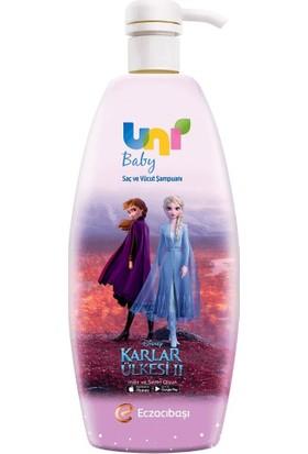 Uni Baby Frozen Boyasız Saç & Vücut Şampuanı 700 ml
