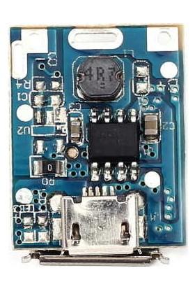 Myrobotech Powerbank Devresi - Lityum Pil Şarj - 5V 1A USB Boost Modül Lion