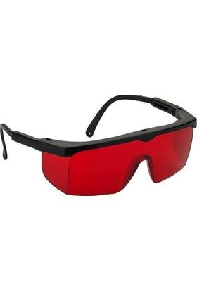 Viola Valente Koruyucu İş Güvenlik Gözlüğü Kırmızı