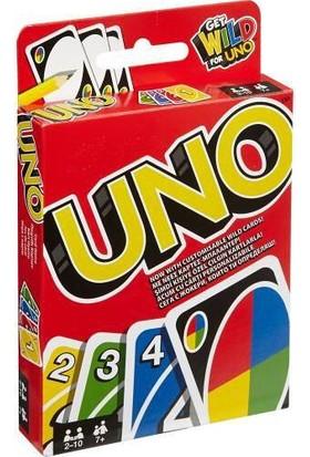 Uno Oyun Kartı Kalın Deste